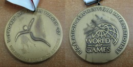 AC - 1st WORLD AIR GAMES 1997 UNLIMITED AEROBATICS ANTALYA, TURKEY MEDAL - MEDALLION - Unclassified