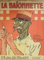 LA BAIONNETTE-1917- 87-CHEZ Les TOUBIBS-CAPORAL Et CABOT INFIRMIERS-TIRAILLEUR-BOFA VILLEMOT - Books, Magazines, Comics