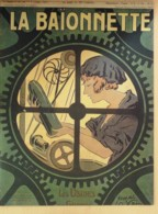LA BAIONNETTE-1917-118-USINES De GUERRE-BRUNNER IRIBE PALLIER RESCO VILLEMOT - Books, Magazines, Comics