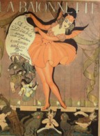 LA BAIONNETTE-1918-134-A LA DIABLE-REVUE CIVILE Et MILITAIRE-ROYAUME De NEPTUNE-WEGENER TINESSE - Libri, Riviste, Fumetti