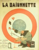 LA BAIONNETTE-1918-150-AVIATEURS PEINTS Par EUX MEMES-ATTERRISSAGEVILLA JEANJEAN VIALLET BELLAIGUE COLOMBIER - Livres, BD, Revues