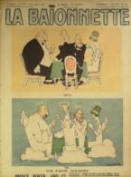 LA BAIONNETTE-1918-173-BRIDGE POKER-PARTIE ACHARNEE-SCENES De VIE Des CARTES-VILLA BOFA DHARM BELLAIGUE BOFA IRIBE - Livres, BD, Revues