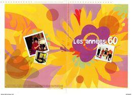 """"""" LES ANNEES 60 """" Sur Document Philatélique Officiel De 2015 De 4 Pages.  N° YT F4960. DPO - Documenten Van De Post"""