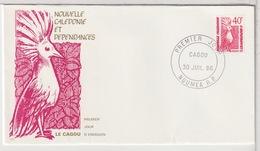 NOUVELLE CALÉDONIE - FDC  - 30 Juillet 1986 - Neukaledonien