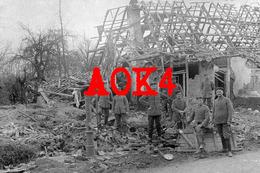 59 Nord BEAU PUITS LA BASSEE Violaines Illies Lorgies 1915 Pompe Nordfrankreich Fernsprecher - Autres Communes