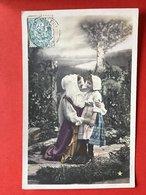 1904 - PHOTO STEBBING - PARIS - MOEDER EN KIND - MAMAN ET ENFANT - Groupes D'enfants & Familles