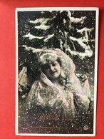1907 - FEMME DANS LA NEIGE - IN DE SNEEUW - Donne