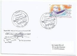 YT 640 Marise Hilsz - Aviatrice - FDC - Juan De Nova - FDC
