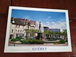 23 - Guéret - La Fontaine, Place Bonnyaud - Guéret