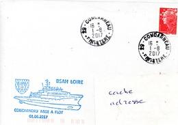 BSAH LOIRE Mise à Flot à Concarneau Obl. Concarneau 01/08/17 - Poste Navale