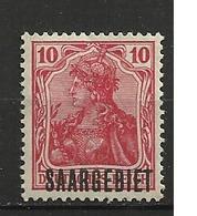SARRE            N°  YVERT  : 34   NEUF AVEC  CHARNIERES      ( 01/04  ) - 1920-35 Société Des Nations