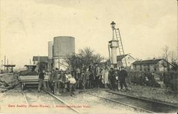 52 - Andilly - La Gare - Assainissement Des Voies (rare) - Autres Communes