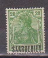 SARRE            N°  YVERT  : 38   NEUF AVEC  CHARNIERES      ( 01/04  ) - 1920-35 Société Des Nations