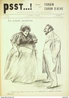 """JOURNAL SATIRIQUE """"PSST""""-1898/29-CARAN D'ACHE,FORAIN-COMPENSATION-rare - Magazines - Before 1900"""