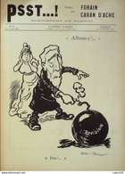 "JOURNAL SATIRIQUE ""PSST""-1898/32-CARAN D'ACHE,FORAIN-PAUL MEYER, ISRAEL-rare - Libri, Riviste, Fumetti"