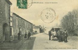 30 - Salinelles - Avenue De Sommières - (Attelage) - France