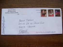 Etats-Unis: Enveloppe De 2019 - 3 Timbres ( Noël) - Briefe U. Dokumente