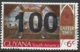 Guyana. 1981 Surcharge. 100c On 6c Used. SG 827 - Guyana (1966-...)