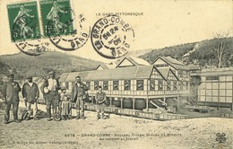 30 - La Grand-Combe - Le Gard Pittoresque - Nouveau Triage, Groupe De Mineurs Se Rendant Au Travail - La Grand-Combe