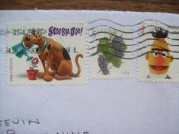Etats-Unis: Enveloppe De 2019 - 3 Timbres ( Scooby Doo...) - Briefe U. Dokumente