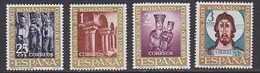 Spain 1961 Art Exhibition Council Of Europe 4v ** Mnh (44533) - Europese Gedachte