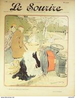 LE SOURIRE-1901-065-Journal Humoristique-BARCET,CADEL,LOURDEY,BARCET,HUARD - 1900 - 1949