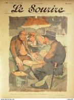 LE SOURIRE-1901-069-Journal Humoristique-CADEL,BERNARD,HUARD,GOTTLOB, - 1900 - 1949