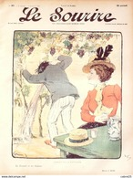 LE SOURIRE-1901-089-Journal Humoristique-GRUN,CADEL,ENGEL,HUARD,ROUBILLE - 1900 - 1949