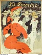 LE SOURIRE-1902-151-Journal Humoristique-GRUN CADEL RIP BLANC HUARD BERTRAND FLORES - Autres