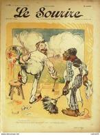 LE SOURIRE-1903-197-Journal Humoristique-BERTRAND CADEL MIRANDE ROUBILLE - Libri, Riviste, Fumetti