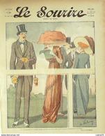 LE SOURIRE-1911- 24-Journal Humoristique-VALERIO BURRET MORISS GAZAN - 1900 - 1949
