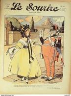 LE SOURIRE-1911- 35-Journal Humoristique-JOBBE DUVAL HEMARD NAM CASTELNO FOY - 1900 - 1949