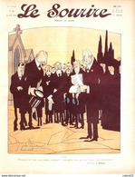 LE SOURIRE-1912-  9-Journal Humoristique-GERVESE HEMARD HERMANN FALKE DELAW - Books, Magazines, Comics