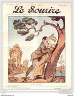 LE SOURIRE-1912- 24-Journal Humoristique-MIRANDE CAPY VILLEMOT GERVESE - Books, Magazines, Comics