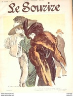 LE SOURIRE-1913-  1-Journal Humoristique-GRUN,ROUBILLE,TESTEVUIDE,HUARD,CADEL, - 1900 - 1949
