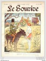 LE SOURIRE-1913- 17-Journal Humoristique-MIRANDE GUYDO BURRET ESQUIUS - 1900 - 1949