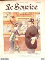 LE SOURIRE-1913- 20-Journal Humoristique-RALLIC GUILLAUME FALKE AGHION - 1900 - 1949