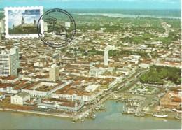 Carte Maximum - Brasil - Belém - Mercado Ver O Peso - Selo Adesivo - Tarjetas – Máxima
