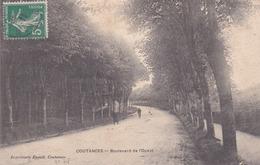 Coutances Boulevard De L Ouest éditeur Enault - Coutances