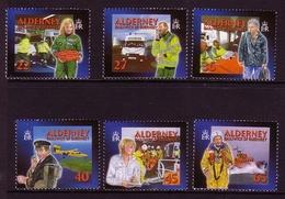 ALDERNEY MI-NR. 199-204 C ** SOZIALE DIENSTE (II) - GESUNDHEITSWESEN 2002 - Alderney