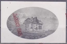 Photo Projet De La Construction D'une Maison ? D'un Hôtel ? Chamonix Mont Blanc Archive Architecte * De Thonon Les Bains - Unclassified