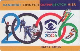 ESLOVAQUIA. Winter Olympics Candidate 2006. A 79, 22/97 ST. (048) - Juegos Olímpicos