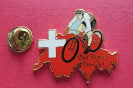 Pin's,Sport,Velo,DIDI RUNKEL FAN-CLUB,Cycliste,Bike,CONTOUR SUISSE Croix - Ciclismo