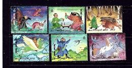 Mongolia 2372-77 MNH 1999 Folk Tales - Mongolia