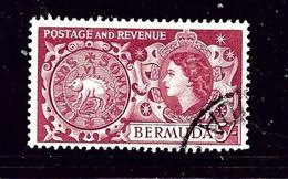 Bermuda 160 Used 1953 Issue - Bermuda