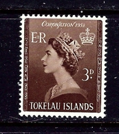 Tokelau Is 4 MNH 1953 QEII Coronation - Tokelau