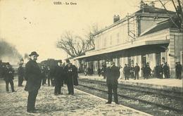 30 - Uzès - La Gare (animée) - Uzès