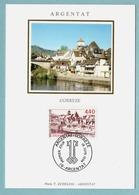 Carte Maximum 1994  - Argentat  (Corrèze) - YT  2894 - 19 Argentat - Maximum Cards