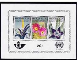 1965, Belgien, 1375/77 II Block 32, Genter Blumenschau. MNH **, - Blocks & Sheetlets 1962-....