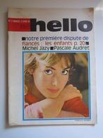 HELLO Numéro 17 15 Avril 1964 - Pascale AUDRET, Michel Jazy ... - Musique